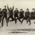 1962 中学卒業アルバム撮影