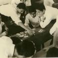 1965 教室にて。